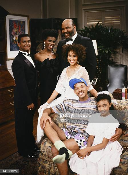 Front Alfonso Ribeiro as Carlton Banks Janet Hubert as Vivian Banks James Avery as Philip Banks Karyn Parsons as Hilary Banks Front Will Smith as...