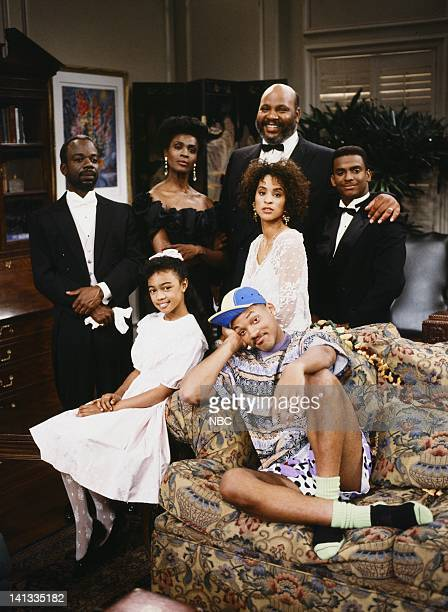 Front Joseph Marcell as Geoffrey Janet Hubert as Vivian Banks James Avery as Philip Banks Karyn Parsons as Hilary Banks Alfonso Ribeiro as Carlton...