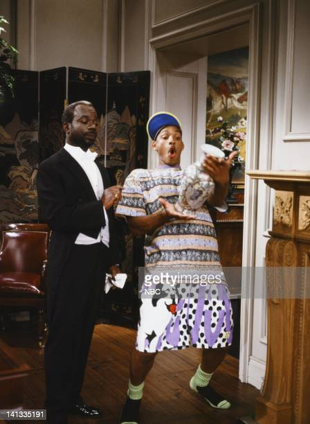 Joseph Marcell as Geoffrey Will Smith as William 'Will' Smith Photo by Chris Haston/NBCU Photo Bank