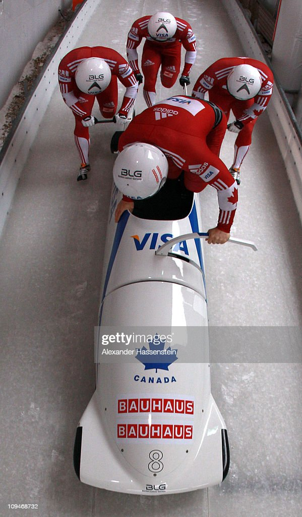 FIBT World Championship - Four Man Bobsleigh
