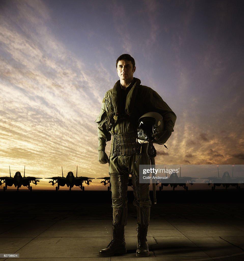 pilot : Stock Photo