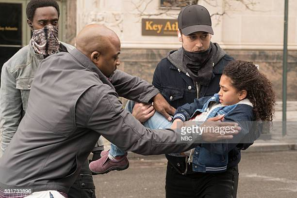 REDEMPTION Pilot Pictured Edi Gathegi as Mr Solomon Terrence Archie as Zack Loescher Ryan Eggold as Tom Keen Anais and Mirabelle Lee as Sadie Loescher