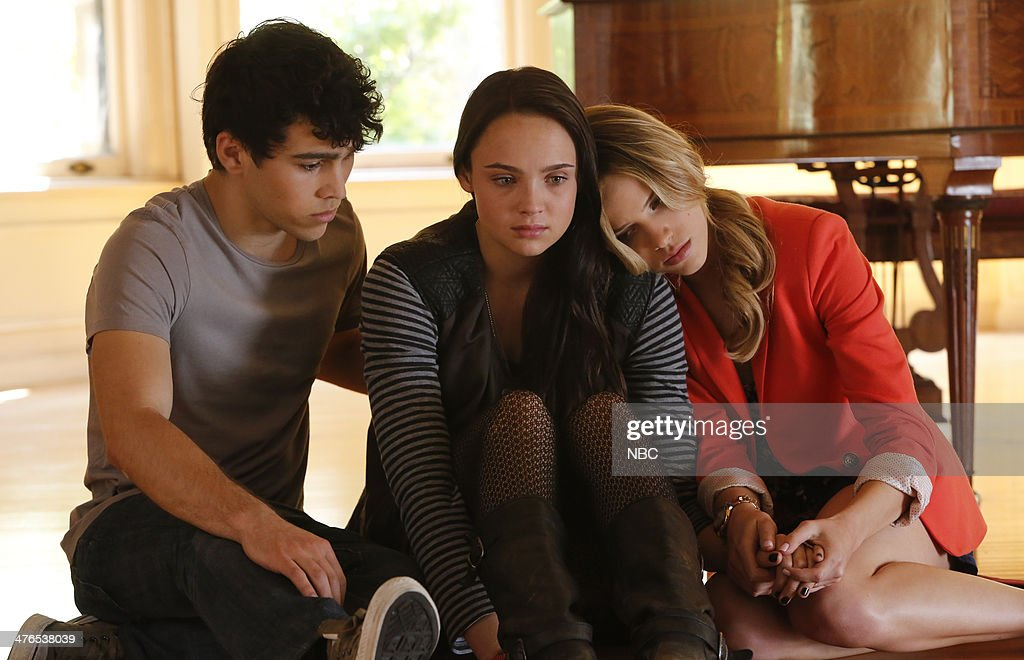 Max Schneider as Ian Martinez Stevie Lynn Jones as Beth Ann Gibson Halston Sage as Amber Fitch
