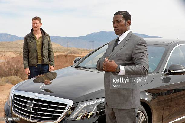 THE PLAYER 'Pilot' Pictured Philip Winchester as Alex Kane Wesley Snipes as Johnson