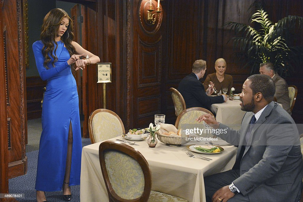 K c undercover blue dress rihanna