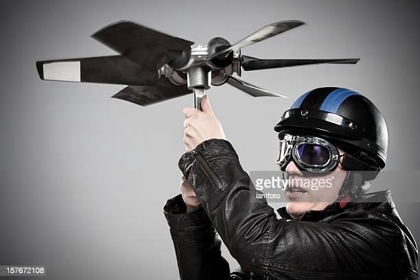 portrait de pilote