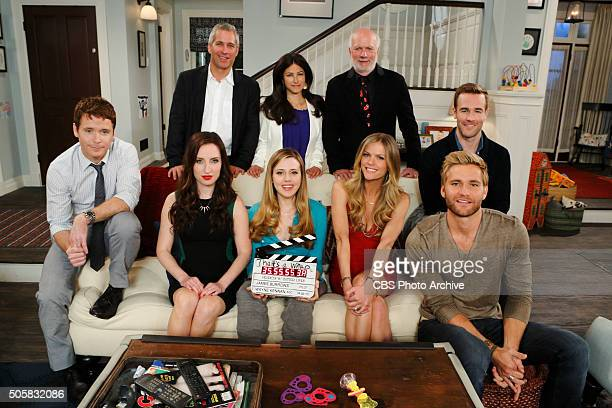 'Pilot' Top Row LR Executive Producer Aaron Kaplan Executive Producer/Creator Dana Klein Director James Burrows Seated LR Kevin Connolly as Bobby Zoe...