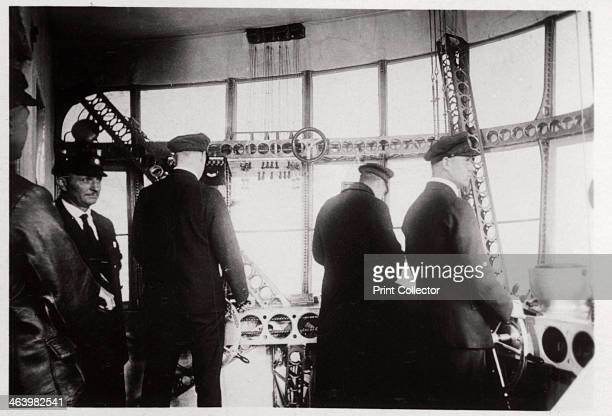 Pilot's compartment Zeppelin LZ 127 'Graf Zeppelin' 1933 The 'Graf Zeppelin' was the most successful airship ever built Between its first flight in...