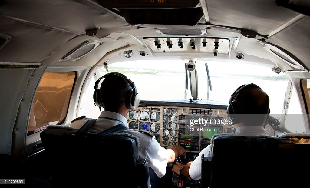 pilots small plane interior