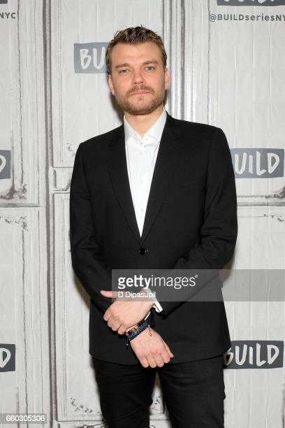 Pilou Asbaek attends the Build Series to discuss 'Ghost in the Shell' at Build Studio on March 29 2017 in New York City