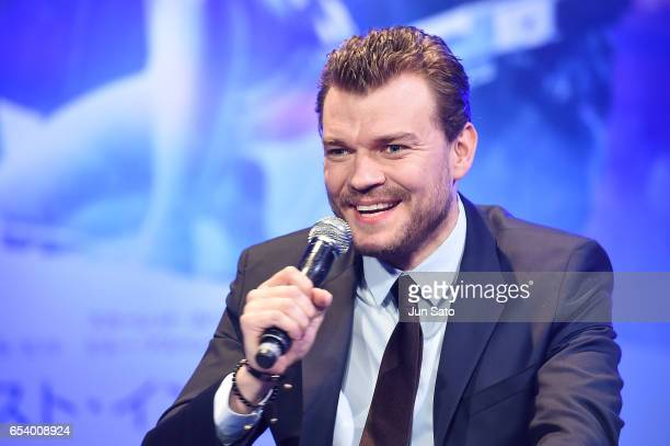 Pilou Asbaek attends the official press conference ahead of the World Premiere of the Paramount Pictures release 'Ghost In The Shell' at the Ritz...