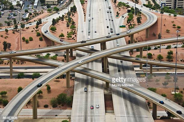 Pima Freeway and Black Canyon Freeway, Phoenix, Arizona