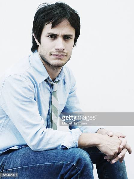 Actor Gael Garcia Bernal poses for a portrait shoot in Cannes France