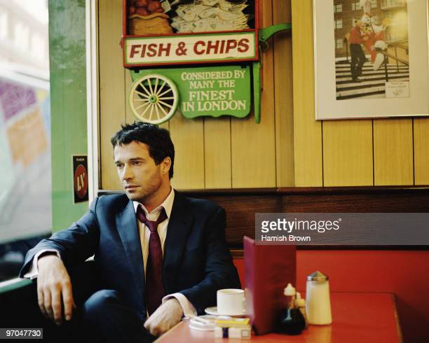Actor James Purefoy poses for a portrait shoot in London UK