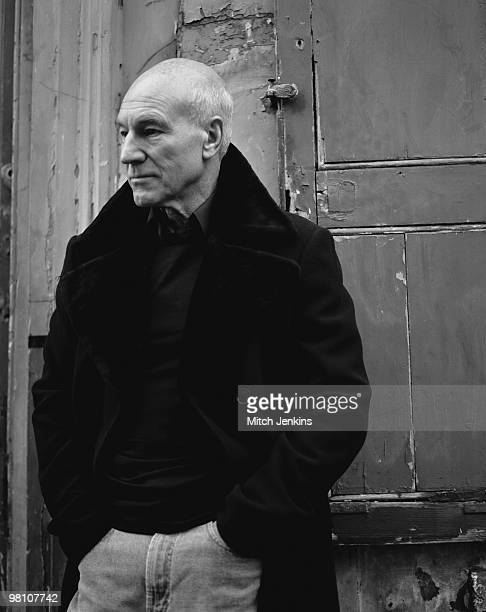 Actor Patrick Stewart poses for a portrait shoot in London