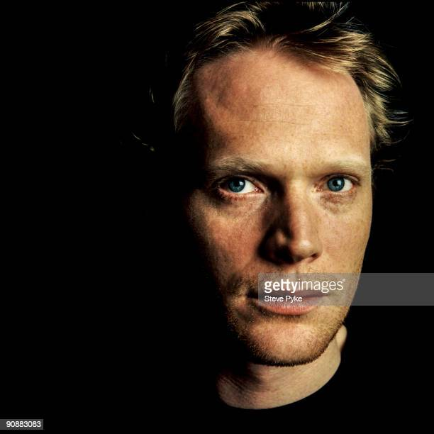Actor Paul Bettany poses for a portrait shoot in London UK