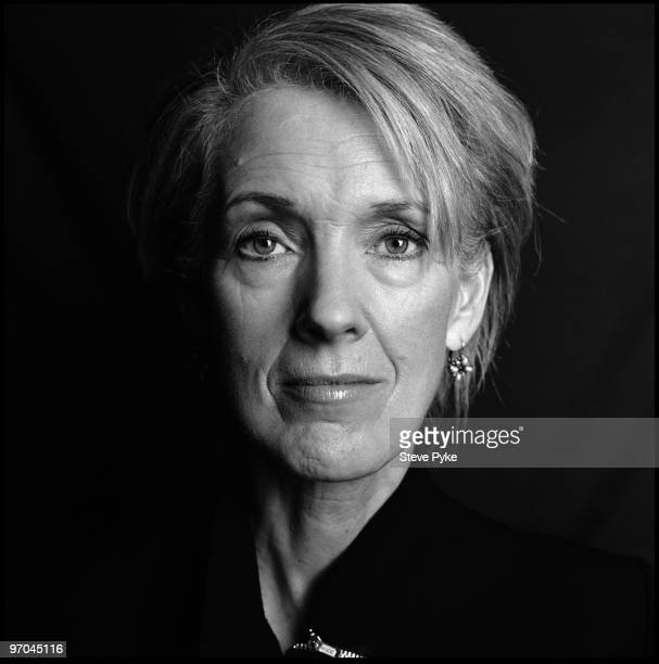 Author Joanna Trollope poses for a portrait shoot in London UK