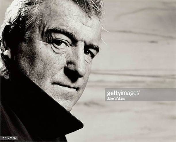 Football manager Terry Venables poses for a portrait shoot in London UK