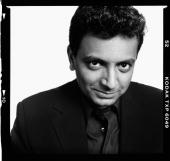 Director M Night Shyamalanposes for a portrait shoot in Los Angeles USA
