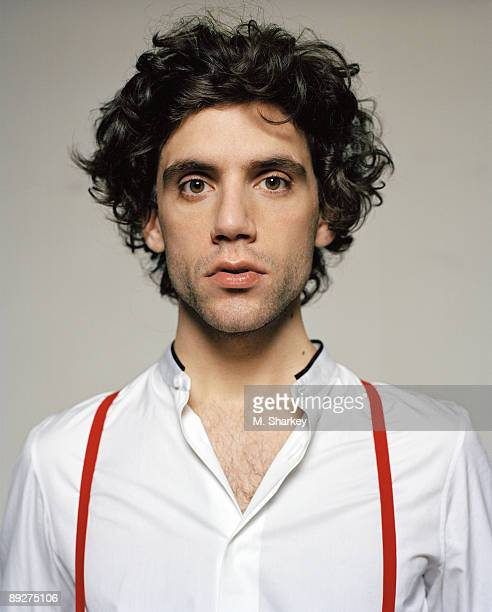 Singer Mika poses at a portrait session for Interview Magazine in 2007 in New York