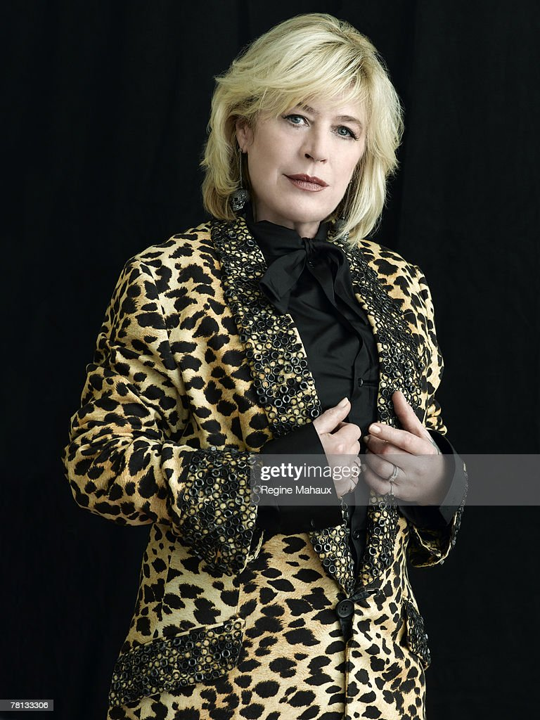 Singer, actress and author Marianne Faithfull poses at a spec shoot portrait session in Paris at Le Meurice Hotel (www.lemeurice.com) on January 18, 2007. Credits:Make-up: Alexis Dralet for CHANEL- look printemps. Stylist: Loic MASI. Hair: Kerastase. Coat by John Galliano. Blouse is Dior Homme by Hedi Slimane. Earrings by Lydia Courteille.