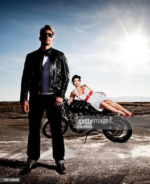 Pin Up Motorcycle Series