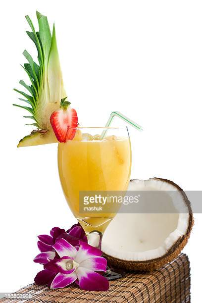 Pina colada and lei