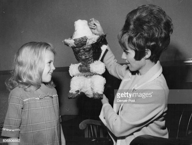 A pinata will be one of items featured at Book Fair It is displayed by Mrs Duke Writer as her daughter Darcy looks on Annual event will open...