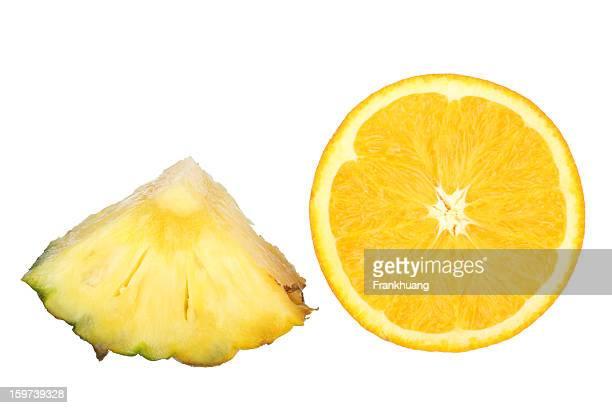 Pineapple Chunk and Orange Slice