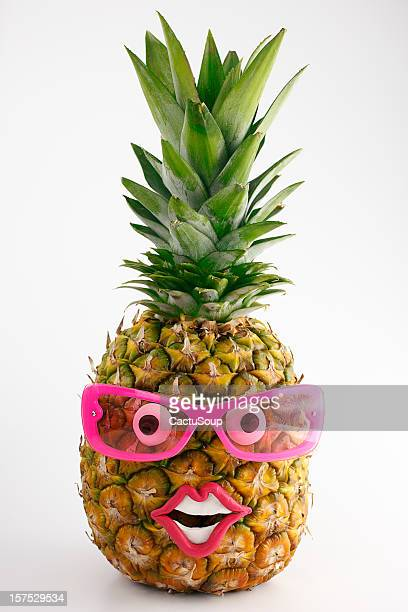 Ananas ritratto.