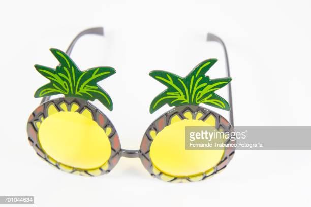 Pineapple shaped sunglasses
