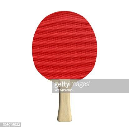 Ping Pong Paddle : Stock Photo