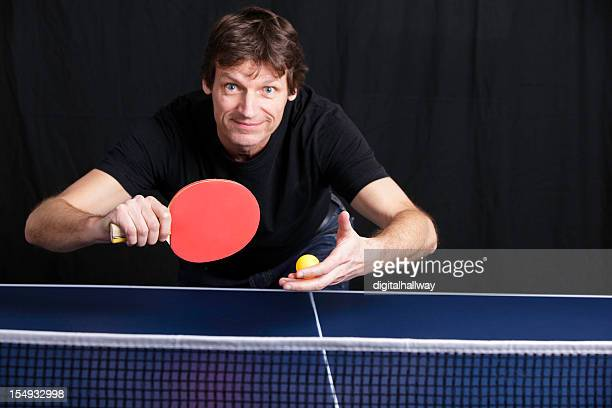 Ping Pong Player Male