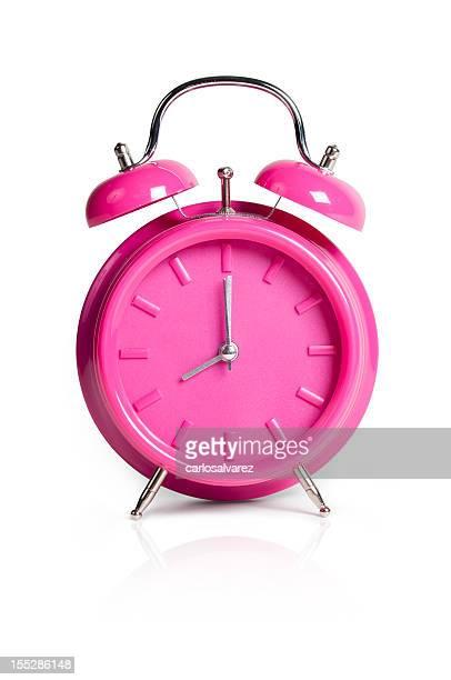 Rosa despertador con trazado de recorte
