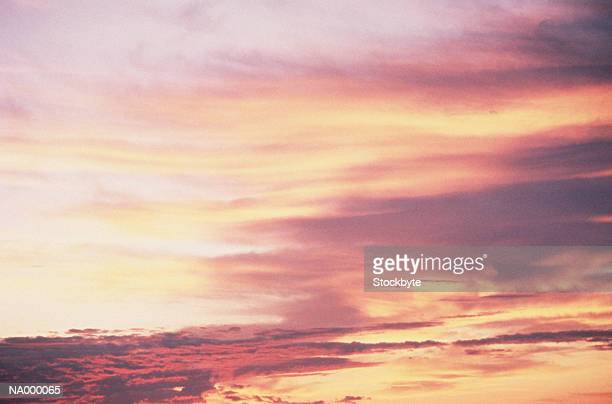Pink and Yellow Sunset