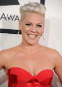 Pink arrivals at the 56th GRAMMY Awards on January 26 2014 in Los Angeles California