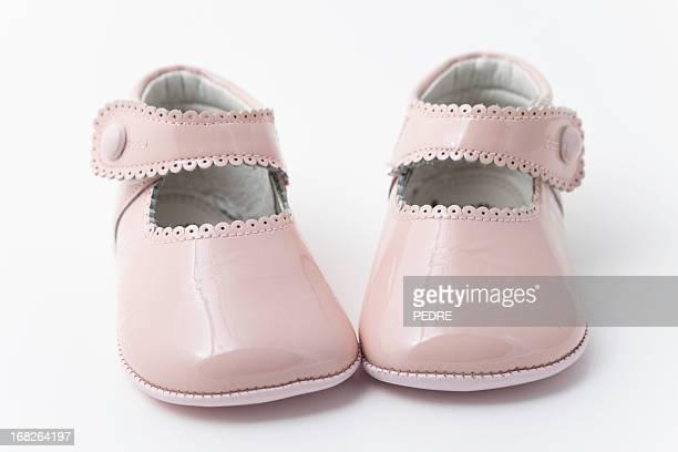 ピンクのベビーブーティ