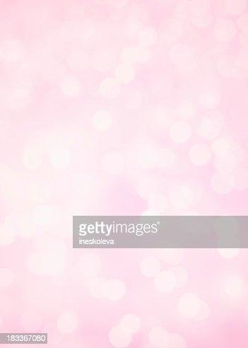 Pink background with defocused lights