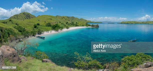 Pink beach - The Famous Beach at Komodo National Park - Labuan Bajo in Flores - East Nusa Tenggara - Indonesia