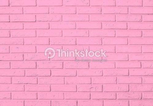 핑크 벽돌전 벽 패턴 배경 스톡 사진  Thinkstock