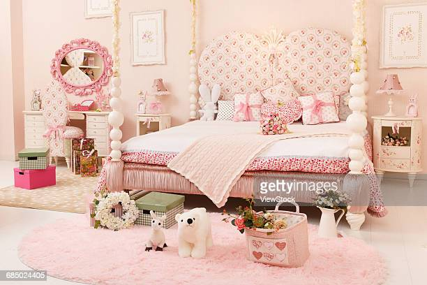 Pink childrens room