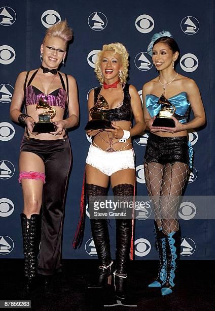 Pink Christina Aguilera Mya