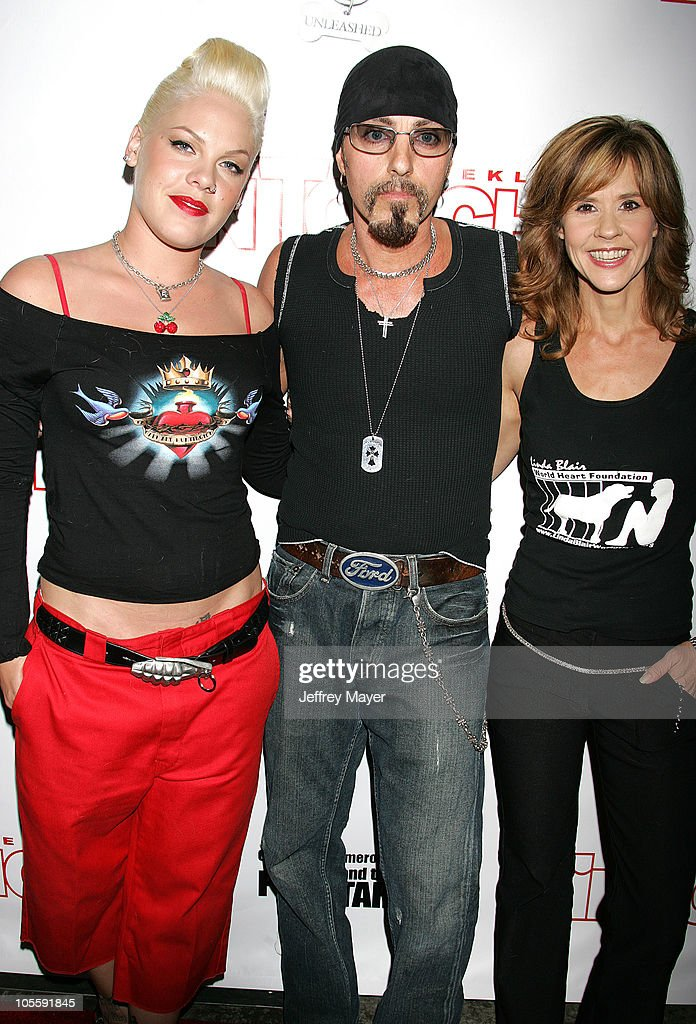 Pink Christopher Ameruoso and Linda Blair during In Touch Weekly Presents 'Pets and Their Stars Unleashed' at Cabana Club in Los Angeles California...
