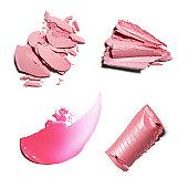 Pink crushed Make-up