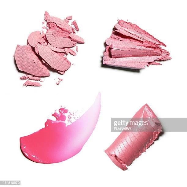 Rose poudre de maquillage