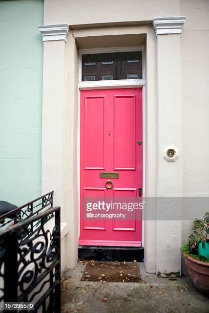 Pink Door on Townhouse