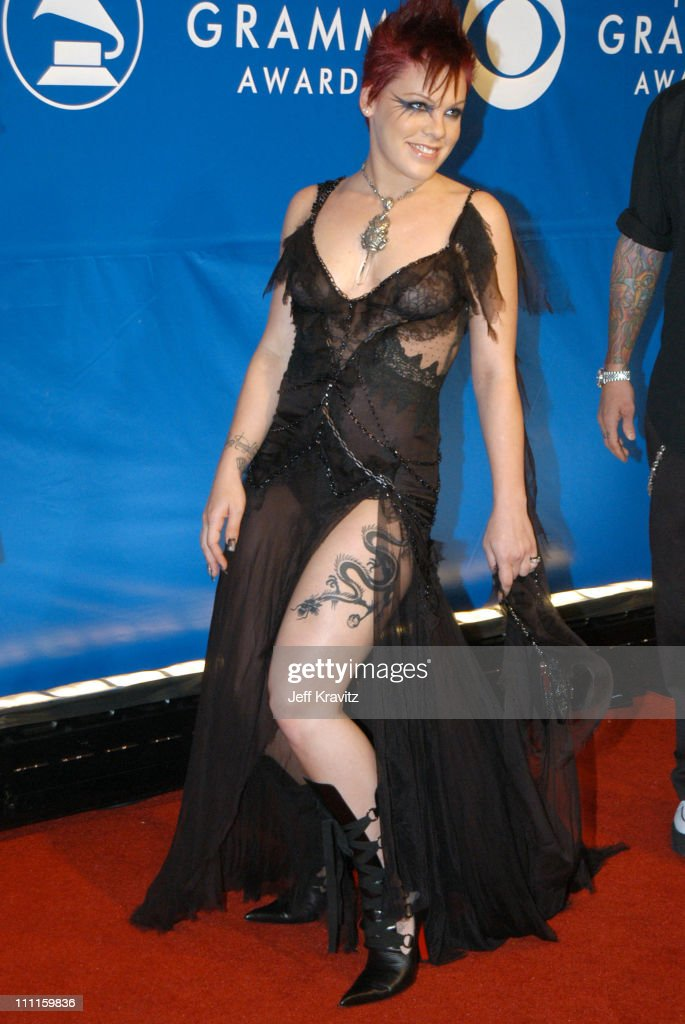 Pink during The 45th Annual GRAMMY Awards - Arrivals at Madison Square Garden in New York, NY, United States.