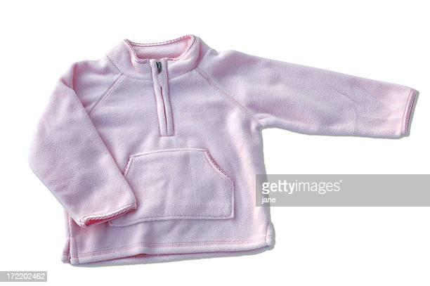Pink Fleece Pullover