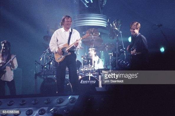 Pink Floyd perform at the Hubert H Humphrey Metrodome in Minneapolis Minnesota on May 24 1988