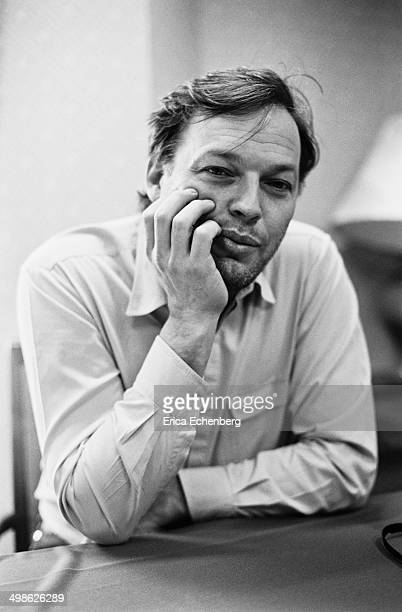 Pink Floyd singer and guitarist David Gilmour is interviewed around the release of his solo album 'About Face' UK 1984